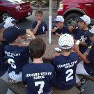 Cousins-sponsored 2012 GBSA Mosquito League Yankees